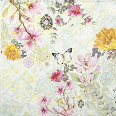 4x Paper Napkins for Decoupage Decopatch Craft Gardening Together
