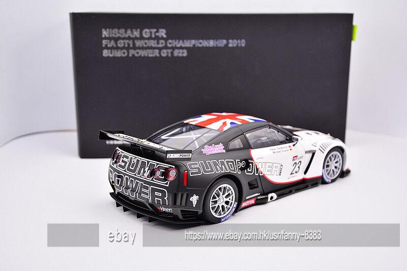 AutoArt Alto Alto Alto 1 18 Nissan NISSAN GTR GT-R FIA GT1 R35 828099