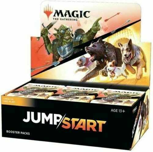 24 Packs Factory Sealed the Gathering MTG Jumpstart Booster Box Magic