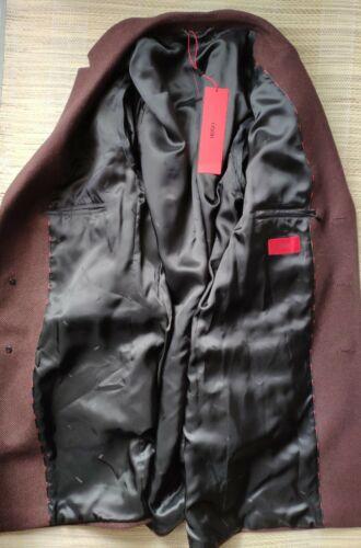 Hugo Boss men/'s Migor1941 coat//overcoat Wool mix Modern Fit