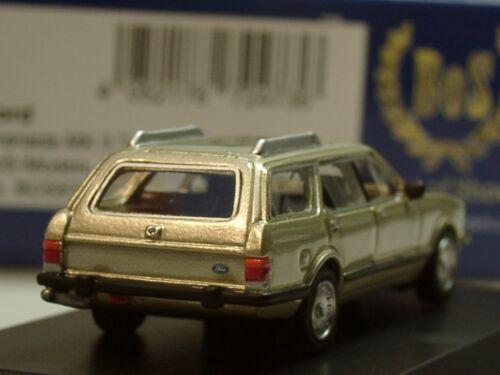 gold BOS Ford Granada MK II Turnier 87300-1:87