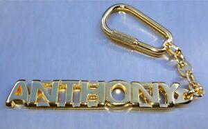 Verlegen Edler SchlÜsselanhÄnger Anthony Vergoldet Gold Name Keychain Weihnachtsgeschenk Selbstbewusst Befangen Gehemmt Unsicher