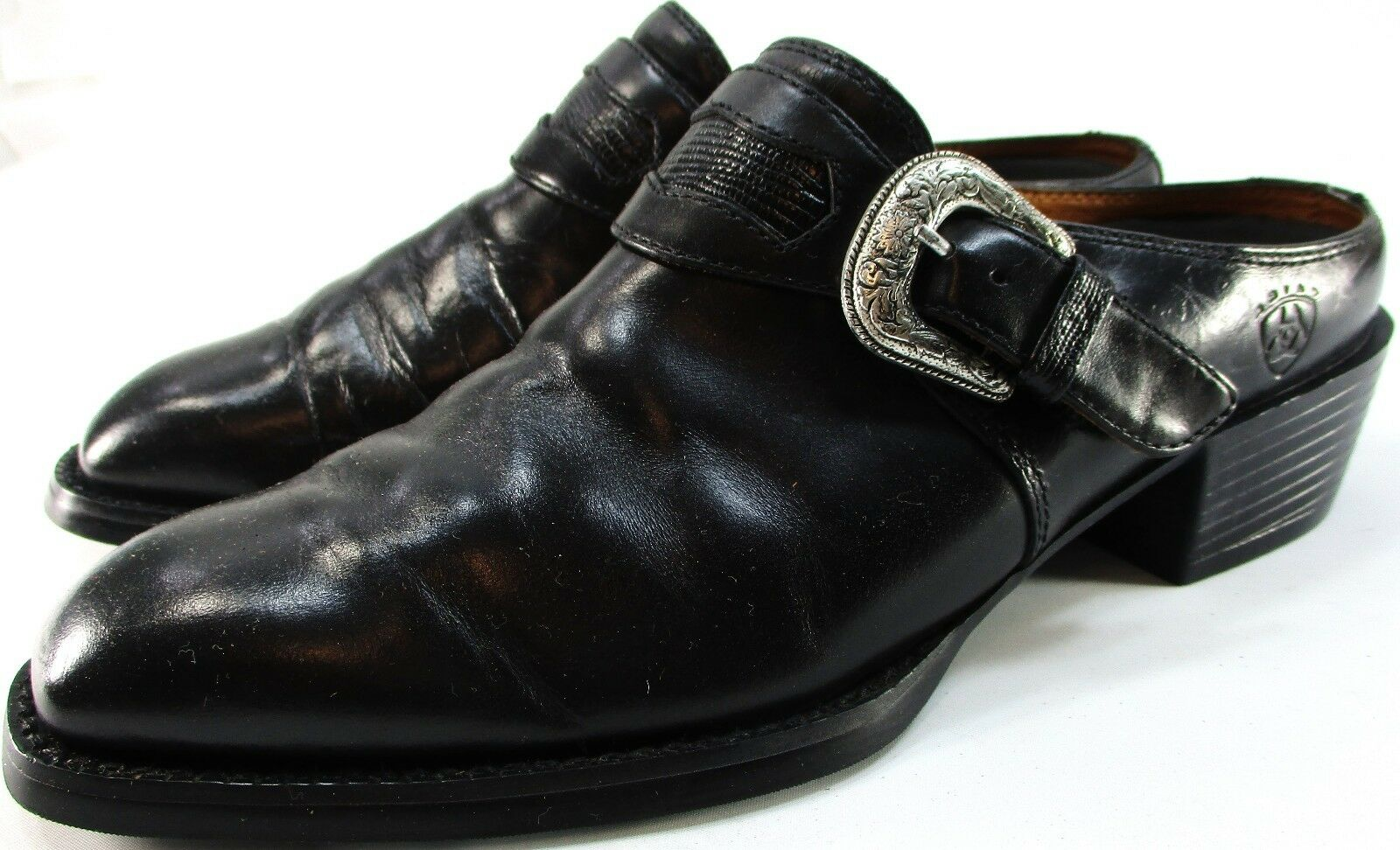 Ariat donna Western Mule avvioies Dimensione 6.58 Euro 36.5 nero Leather