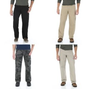New-Wrangler-Cargo-Pants-Four-Colors-Available-All-Men-039-s-Sizes