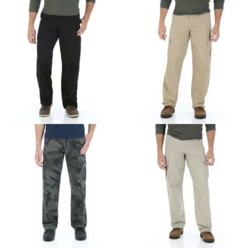 New Wrangler Cargo Pants Four Colors Available All Men/'s Sizes