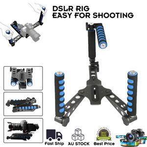 Shoulder-Racks-Mount-DV-DSLR-Rig-Stabilise-Camera-Stand-Camcorder-Stabilize