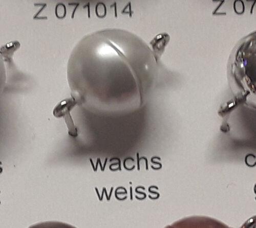 Magnetverschlüsse für Perlen 5 Stück deutsche Produktion