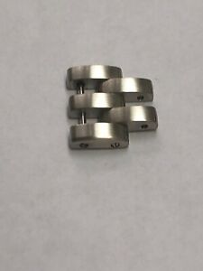 Cartier En Acier Massif Panthere Band Bracelet Link 15 Mm Neuf 100% Authentique-afficher Le Titre D'origine