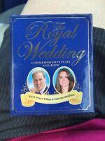 The Royal Wedding Commemorative Plate And Book By Cindy De La Hoz (2011, Mini Sz