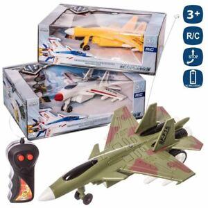 Aereo-Jet-Militare-Giocattolo-Telecomandato-Warplanes-3-Colori-Gioco-per-Bambini