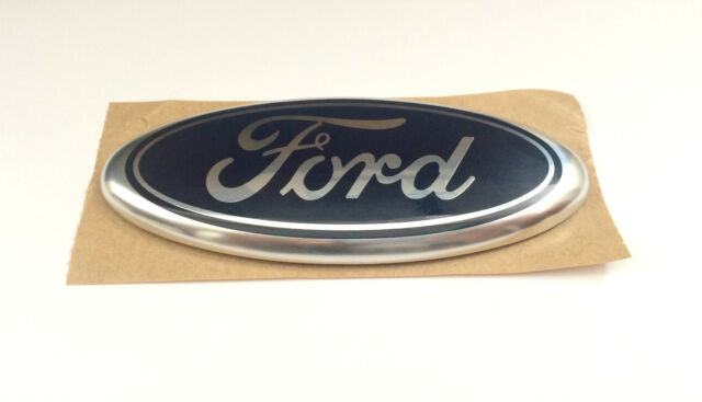 NEW FORD S-MAX BLUE SELF-ADHESIVE OVAL NAME BADGE EMBLEM FRONT 3U5A-19H250-EA