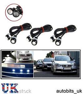 6X-Eagle-Eye-le-luci-LED-18mm-Luce-Diurna-Auto-Moto-Motore-SVENDITA-Mark