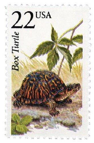 1987 22c Box Turtle, North American Wildlife Scott 2326
