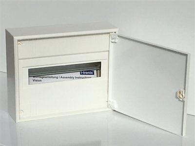 UnermüDlich Kleinverteiler Inkl Tür 1-reihig Unterverteilung Sicherungskasten Aufputz Baugewerbe