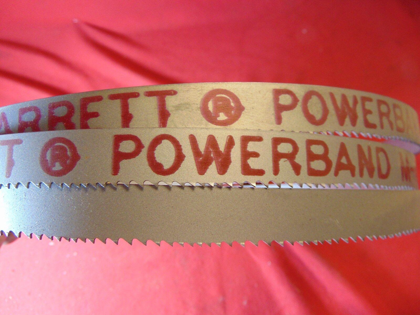 "Starrett 99209-0903.5 Band Saw Blade M42 Powerband  9/' 3-1//2/"" x 3//4 x.035 6-10VP"