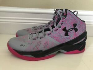 c29e297b54a2 Details about NEW UA Men s Under Armour Stephen Curry 2 1259007-037  Mother s Day Size 14