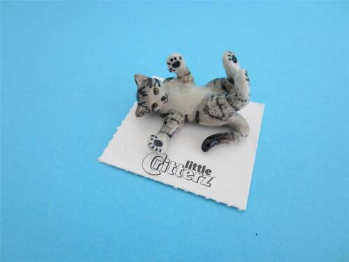 """NEW LITTLE CRITTERZ CAT /""""POUPOUCE/"""" FIGURINE SPECIAL COMMISSIONED BY US ADORABLE"""