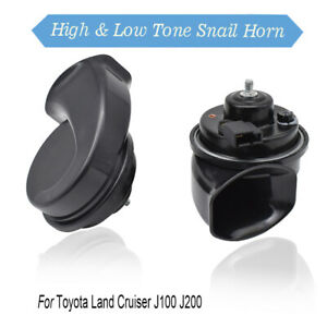 Snail-Horn-For-Toyota-Land-Cruiser-J100-J200-98-20-12V-125db-410-510Hz-Loud
