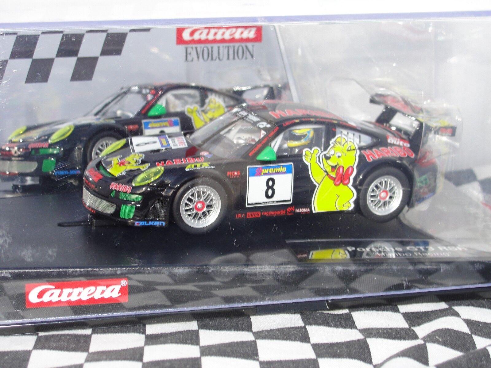 CARRERA EVO PORSCHE GT3 RSR 'HARIBO RACING'    32 BNIB
