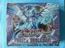 Yu-Gi-Oh Photon Shockwave Booster Box Sealed English Edition