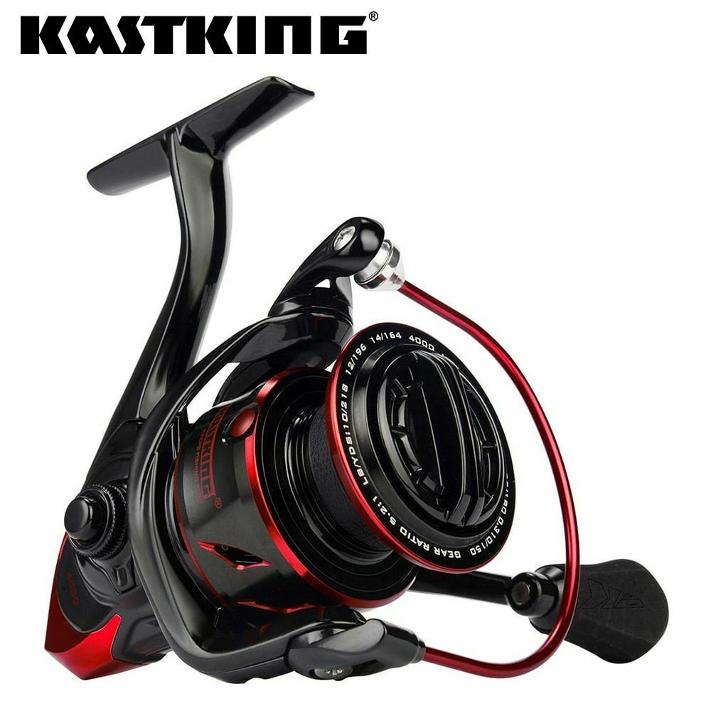 Water Resistance Spinning Reel Max Drag Power Fishing Reel For Bass Pike Fishing