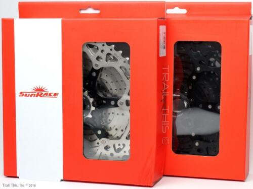 SunRace CSMS8 or CSMX8 11-Speed 11-36 40 42 46T Black Silver MTB Bike Cassette