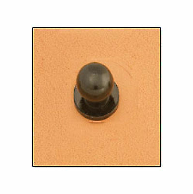 "Button Stud 5/16"" (8mm) Screwback Black 11310-17 by Tandy Leather"