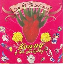 FREE US SHIP. on ANY 2 CDs! NEW CD Kenny Y Los Electricos: Con Tequila En La San