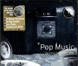 POP-MUSIC-the-early-years-1890-1950-CD-NEW