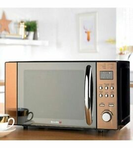 Digital-Microwave-Breville-20-Litre-Bronze-LED-Display-Kitchen-800W