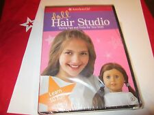 American Girl Doll Hair Studio Styling Tips & Tricks 50 Hairstyles for Dolls DVD