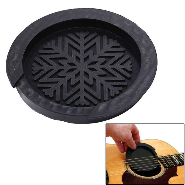Accessoire de guitare acoustique en caoutchouc de couverture acoustique trou IU