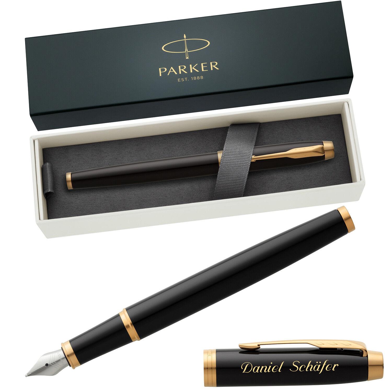 PARKER Füller IM COLLECTION mit Laser-Gravur - Modell wählbar | Qualität  | Qualität Produkte  | Neu