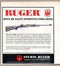 1973 Print Ad Ruger M-77 High Power Bolt Action Rifles Southport,CT
