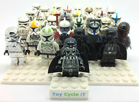 LEGO Genuine Star Wars Minifigures From Clone / Storm Trooper Vader Fox Fett SWA