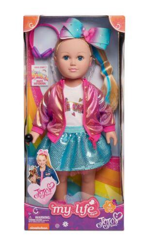 My Life As JoJo Siwa Doll 2019 Dance Party Blond 18 inch Soft Torso Doll