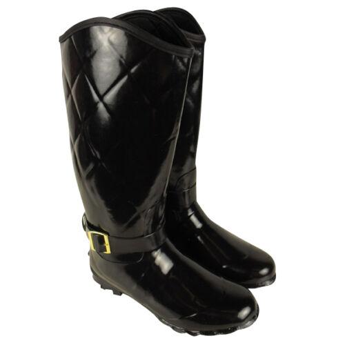 Womens Wellington Boots Printed Rain Snow Winter Boot Wellies Ladies Size UK 3-8