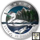 2016 'The Loon - Geometric Art' $20 Silver Coin 1oz .9999 Fine *No Tax (17503)