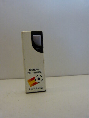 briquet rechargeable gaz ,  espana 1982,roven, mundial de futbol (car15)
