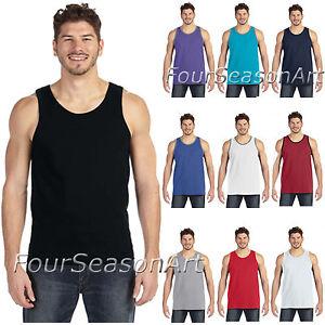 d4e951e692c2a Anvil Mens Lightweight Fashion Tank Top T-Shirt S M L XL 2XL 986