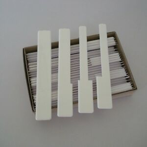 Piano Keytops -Full set of 52 white replacement keytops