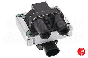 New NGK Ignition Coil For LANCIA Thema 2.0 ie 1989-92 (2 Pin)