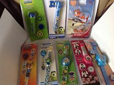 A WHOLESALE JOBLOT 10 OF CHILDRENS WATCHES AND OTHER ITEMS