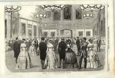 1855 grande palla di Stato presso Windsor Castle imperatore francese