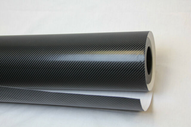 4D Black Gloss/Vinyl/Wrap/textured for car/home/air Free Carbon Fibre
