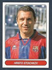 PANINI EUROPEAN FOOTBALL STARS 1997- #116-BARCELONA & BULGARIA-HRISTO STOICHKOV