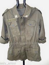 Womens Military Combat Jacket Ladies Italian Army Jacket Small Urban Fashion