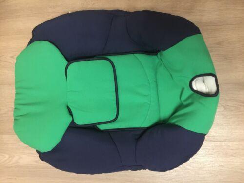 Bezug Maxi Cosi Tobi NEU Ersatzbezug dunkelblau-grün