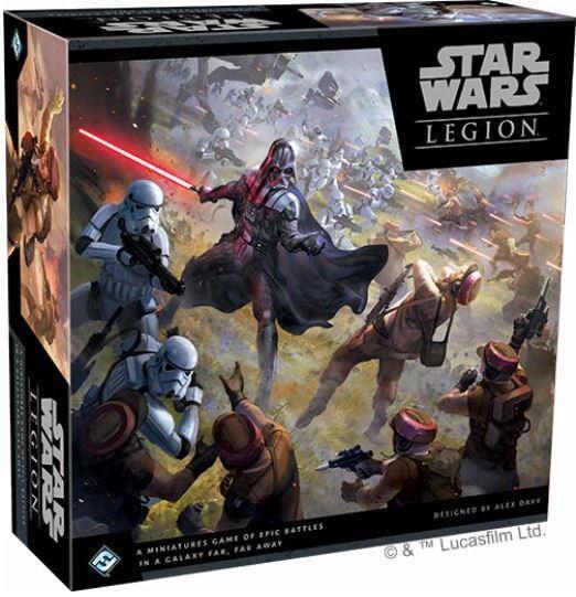 Star Wars-Juego de Miniaturas escaramuza Legión-Core Set