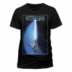 Men-039-s-Star-Wars-Return-of-the-Jedi-Poster-T-Shirt
